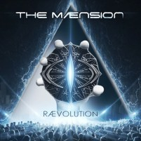 Maension album cover for Raevolution