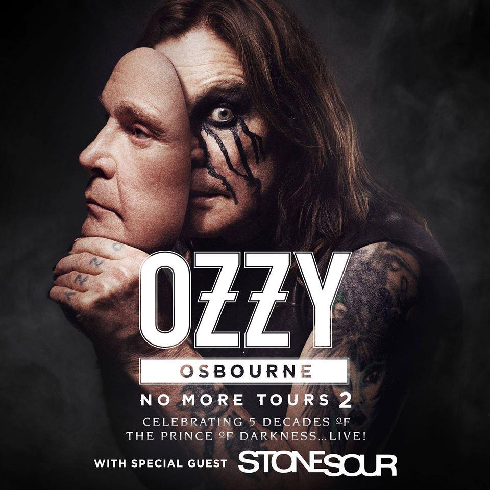 Ozzy Osbourne at Hollywood Casino Amphitheatre Friday, September 21, 2018
