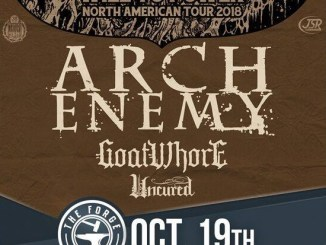 Arch Enemy with Goatwhore and Ucured at The Forge in Joliet, Tuesday, October 9, 2018