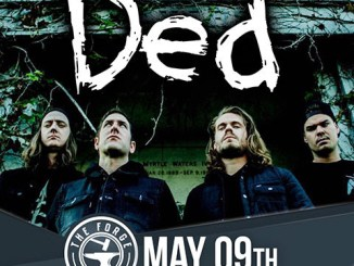 DED at The Forge in Joliet Wednesday, May 9, 2018