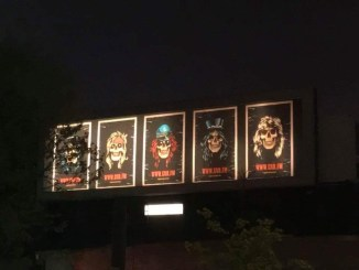 Guns N' Roses teasing billboard