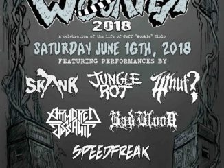 """Wookfest (A Celebration of the Life and Legacy of Jeff """"Wookie"""" Ziolo) at Reggies Saturday, June 16, 2018"""