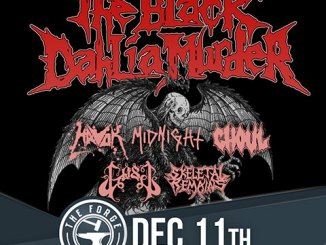 The Black Dahlia Murder at The Forge, Tuesday, December 11, 2018