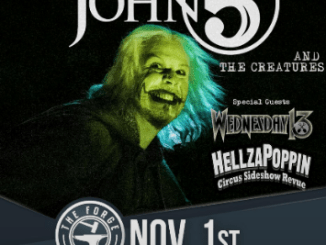 John 5 and the Creatures at The Forge, November 1, 2018