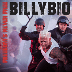 "Billybio album cover for ""Feed the Fire"""