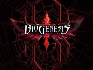 "BioGenesis album cover for ""Black Widow"""