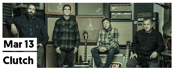 Clutch at Concord Music Hall on March 13, 2019