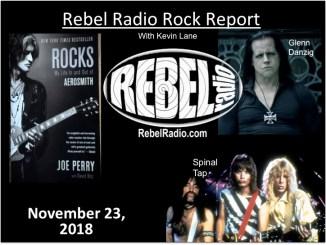 Rebel Rock Report with Kevin Lane, November 23, 2018