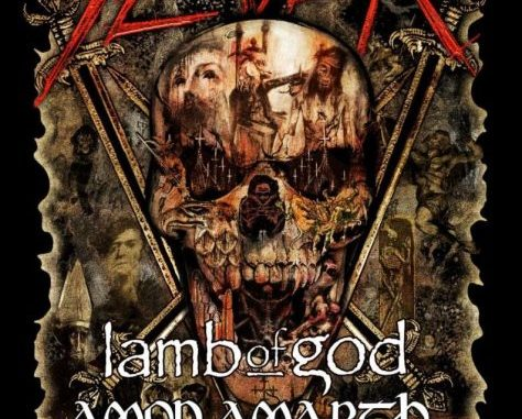 Amon Amarth will tour with Slayer, Lamb of God, and Cannibal Corpse in Spring, 2019