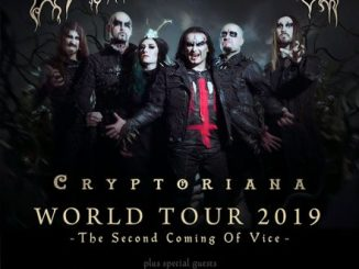 Cradle of Filth at The Rave Eagles Club in Milwaukee, WI on Thursday, March 21, 2019