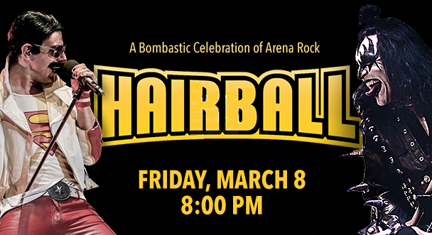 Hairball at Genesee Theatre on Friday, March 8, 2019