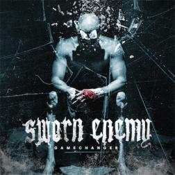 """Sworn Enemy """"gamechanger"""" album cover"""