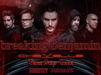 Chevelle supporting Breaking Benjamin on Summer tour
