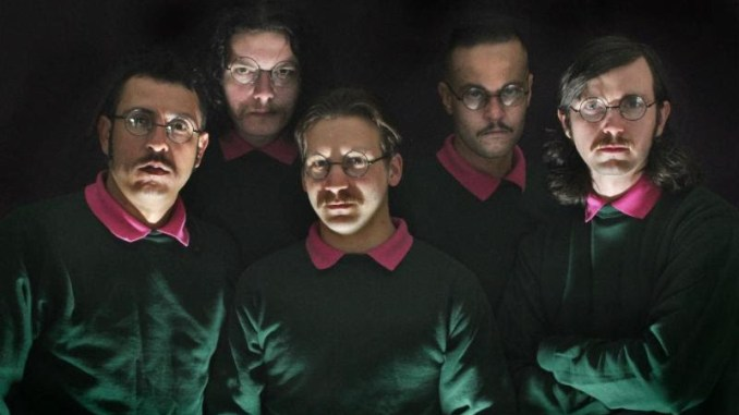 Okilly Dokilly - 5 guys dressed like Ned Flanders from the Simpsons