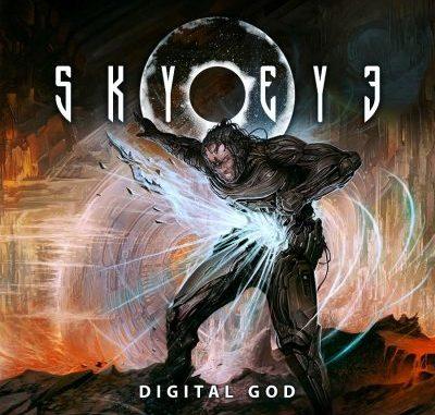 """SKYEYE album cover for """"Digital God"""""""