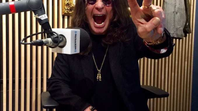 """Ozzy Osbourne. Picture taken from his Facebook page, promoting """"Ozzy Speaks"""""""