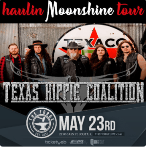 Texas Hippie Coalition at The Forge on Thursday, May 23, 2019