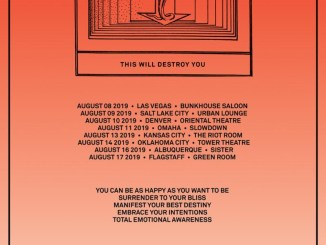 This Will Destroy You, red background
