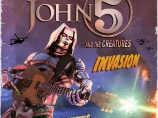 Invasion album cover by John 5 and the Creatures