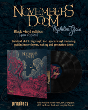 Novembers Doom on Black Viniyl