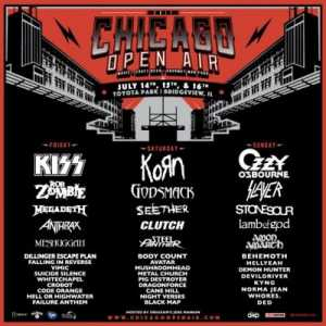 Chicago Open Air, 2017