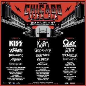 Chicago Open Air, 2017