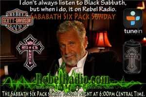 Sabbath 6 Pack