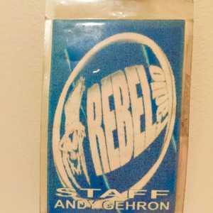 Andy Gehron - Rebel VIP Pass