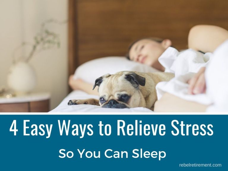 Aging? 4 Easy Ways to Relieve Stress So You Can Sleep
