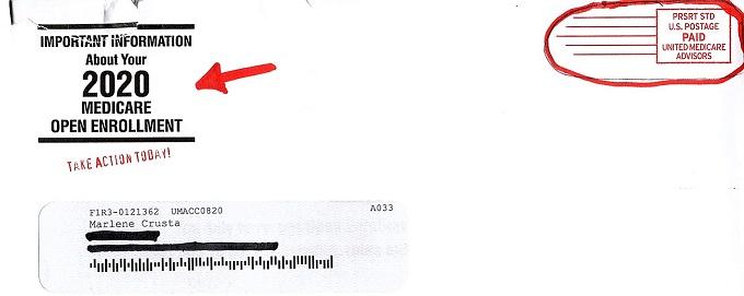 Medicare Spam Letter - Rebel Retirement