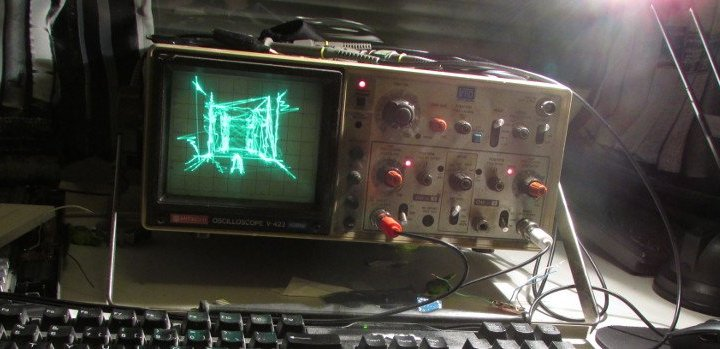Quakescope – Quake on an oscilloscope