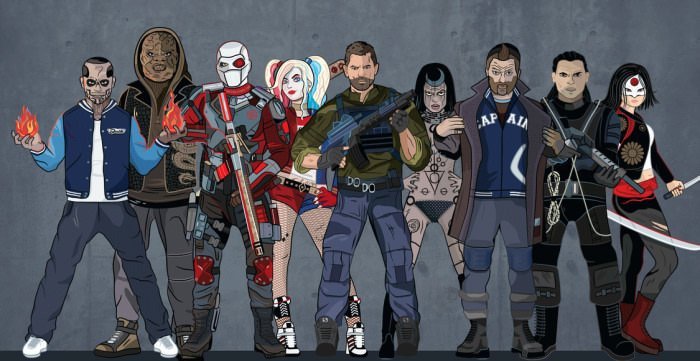 How much do you know about the 'Suicide Squad'?