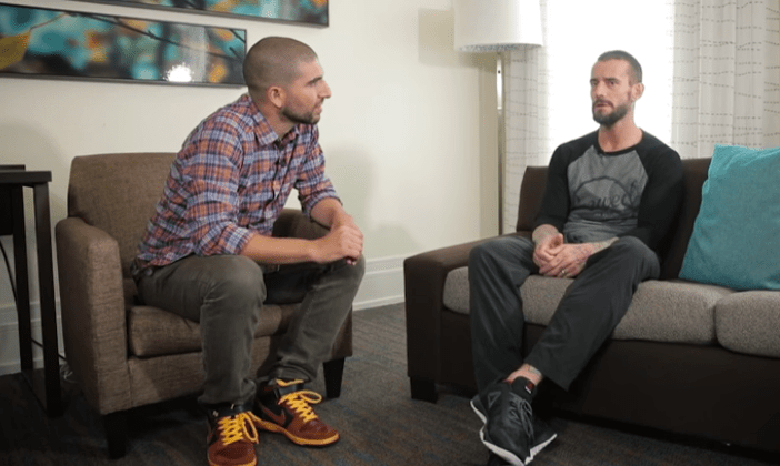 CM Punk reflects on MMA journey