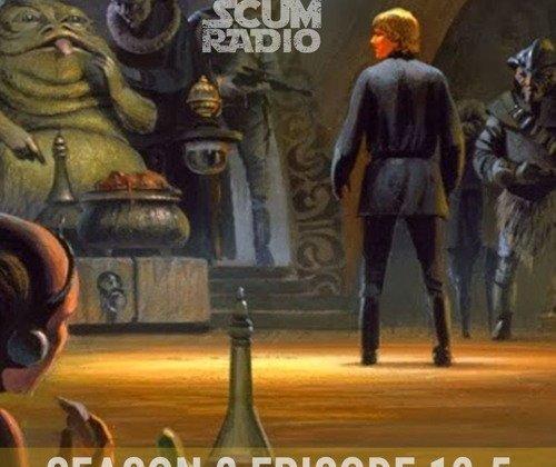 Luke Skywalker Jedi and Jabba