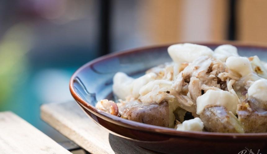 The Kitchen Forager Series: Thanksgiving Hangover Poutine