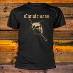 Candlemass Gold Skull