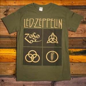 Тениска Led Zeppelin Gold Symbols
