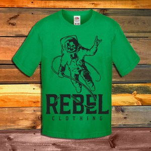 Детска Тениска Rebel Clothing Spaceman