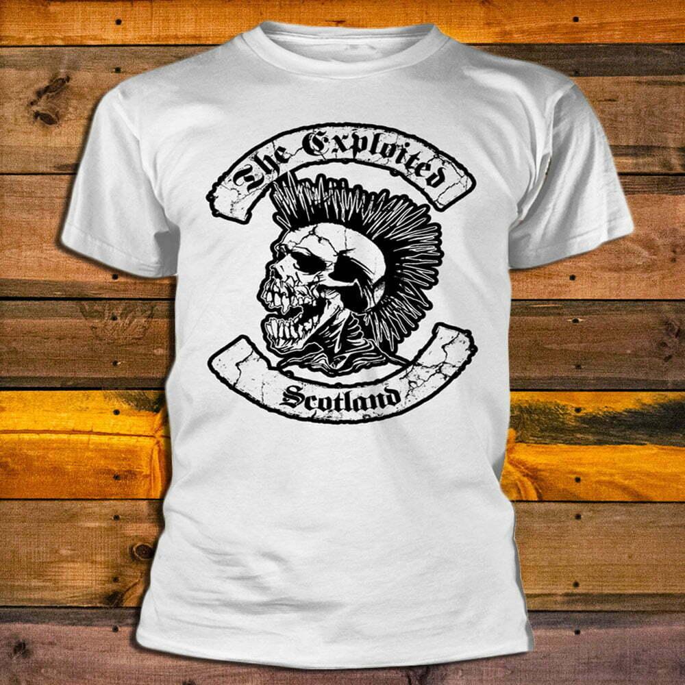 Тениска The Exploited Scotland