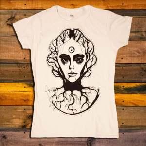 Дамска Тениска This Burning Day Woman Face
