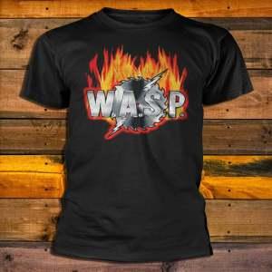 Тениска W.A.S.P. Sawblade Logo