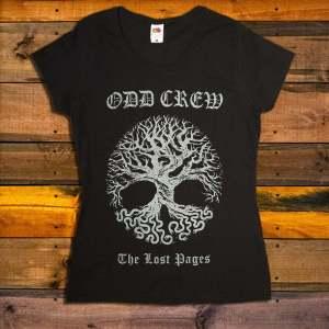 Дамска Тениска Odd Crew The Lost Pages