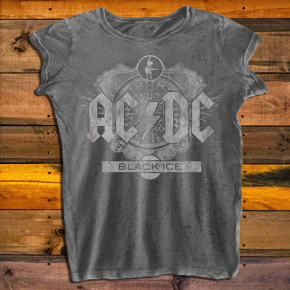 Дамска тениска AC/DC Black Ice