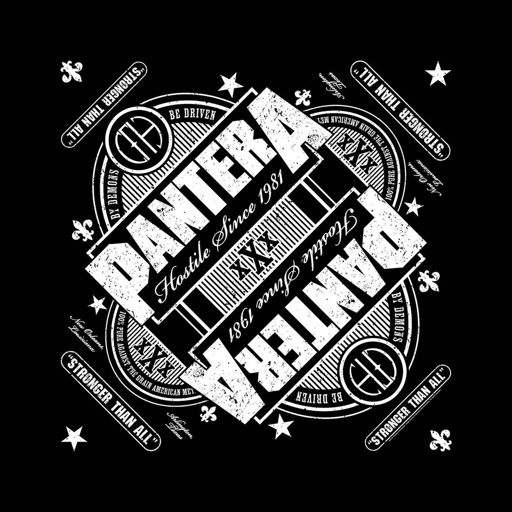 Бандана Pantera Stronger Than All