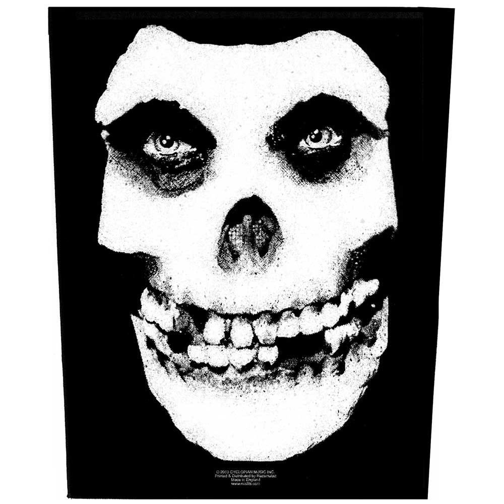 Гръб Misfits Face Skull