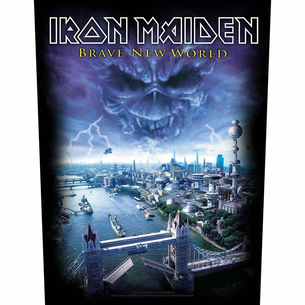 Гръб Iron Maiden Brave New World