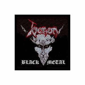 Нашивка Venom Black Metal