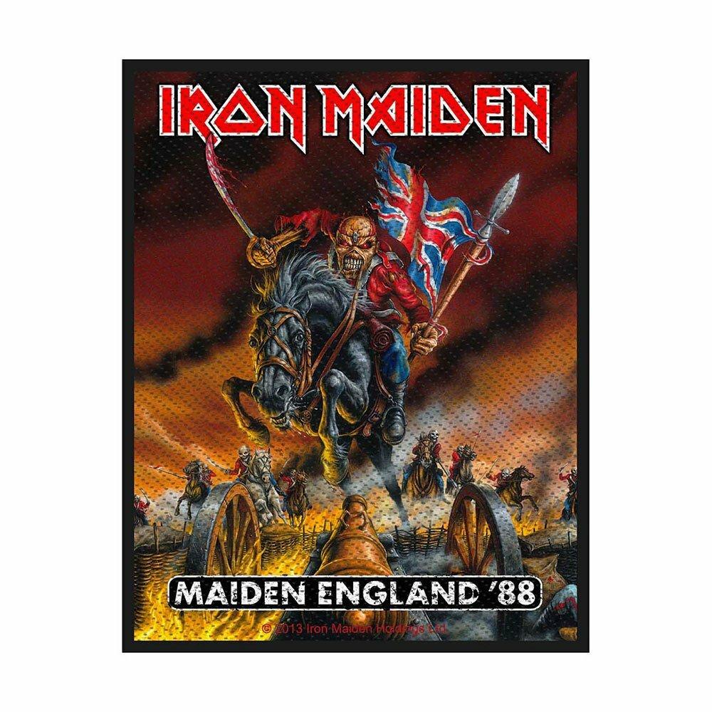 Нашивка Iron Maiden Maiden England