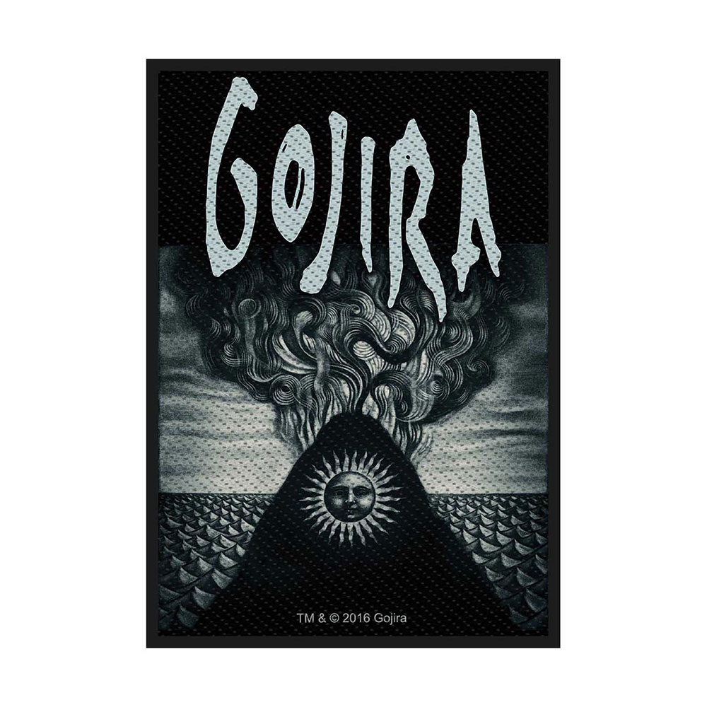 Нашивка Gojira Magma