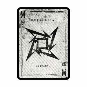 Нашивка Metallica Dealer